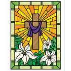 Easter Stained Glass Window Cling