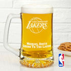 NBA Basketball Team Logo Personalized Beer Mug