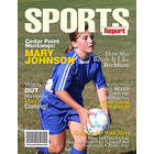 Personalized Sports Magazine Cover