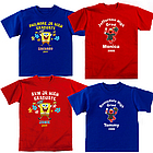 Personalized SpongeBob and Elmo Adult Graduation T-Shirt
