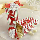 """About to Pop!"" Popcorn Favor Boxes"