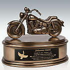 Highly Detailed Motorcycle Cremation Urn