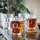 Classic Personalized Dimple Beer Mugs