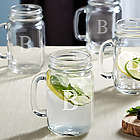 Old South Personalized Glass Drinking Jars