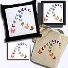 Watercolor Butterflies Gift Set