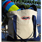 Canvas Boater Tote