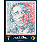 Obama Inaugural Speech Commemorative Art