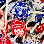 USA Patriotic Tootsie Pops