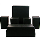 5.1 Home Theater System with Powered Subwoofer