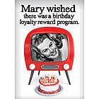 Birthday Loyalty Program Greeting Card