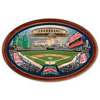 Chicago Cubs Wrigley Field 100-Year Anniversary Framed Plate