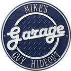 Personalized Garage Outdoor Wall Plaque