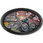Personalized Biker Art Collector Plate