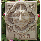 Personalized Sun with Angels Plaque