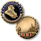 Operation Iraqi Freedom Veteran Keepsake Pocket Token