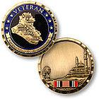 Operation Iraqi Freedom Veteran Keepsake Pocket Token