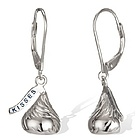 Hershey's Kiss Leverback Earrings