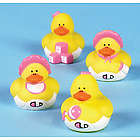 Mini Baby Girl Shower Rubber Duckies