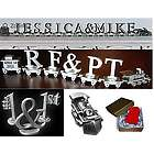 Personalized Wedding Expression Pewter Train