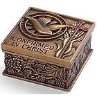 Bronze Finish Confirmation Memory Box