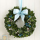 Bundle of Joy for Baby Boy Wreath
