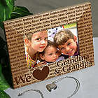 We Love Personalized Wooden Picture Frame