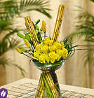 Fields of Bamboo Floral Arrangement