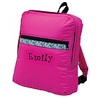Monogrammed Back to School Back Pack