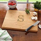 Chef's Monogram Bamboo Cutting Board