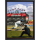 New York Yankees and Brooklyn Dodgers Framed Print
