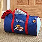 Personalized Boys Sports Duffle Bag