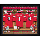Personalized Utah Utes Locker Room Print