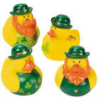 12 St. Patrick's Day Rubber Duckies