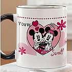 You're Sweet Mickey and Minnie Mouse Coffee Mug