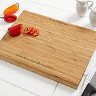 Bless this Home Personalized Bamboo Cutting Board