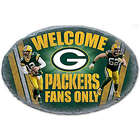 Green Bay Packers Faux Stone Welcome Sign