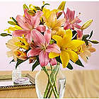 Royal Spring Lilies Bouquet