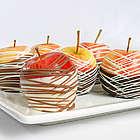 Belgian Chocolate Dipped Apples
