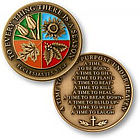 To Everything There is a Season Keepsake Coin