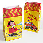 Fire Fighter Paper Bags