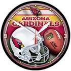 Arizona Cardinals Round Wall Clock