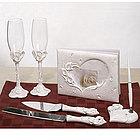 Crystal Calla Lily Bridal Set