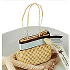 Mini Woven Handbag Tote Favor