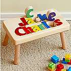 Personalized Two Name Puzzle Step Stool