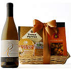 Fine Wine and Cheese Gift Basket