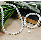 Bridal Pearl Jewelry Set