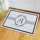 Monogram Welcome Doormat