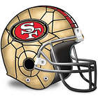 San Francisco 49ers Helmet Accent Lamp
