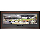 NY Yankees Last Night at Yankee Stadium Framed Panoramic Photo