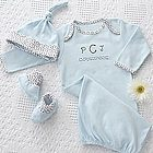Personalized Welcome Home Baby Gift Set for Boys